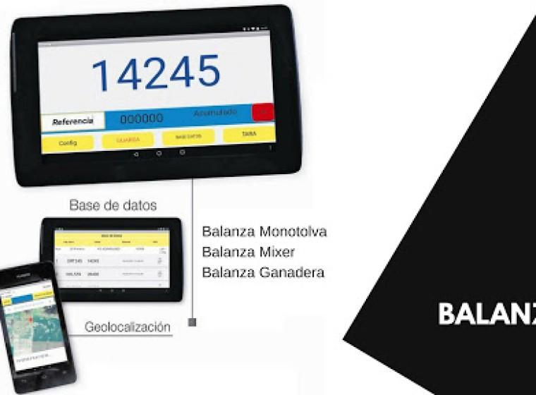 Balanza Efe&Efe 0km Con Pantalla Táctil, año 2020