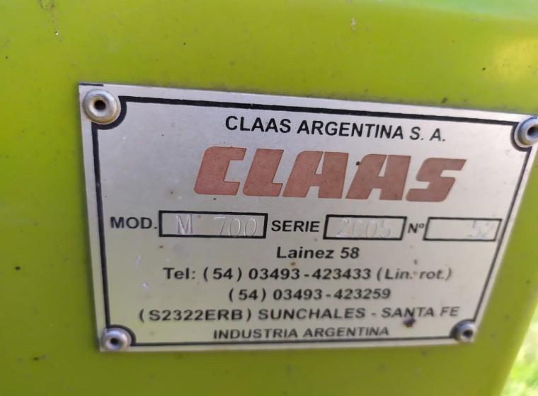 Cosechadora Claas Medion, año 2005