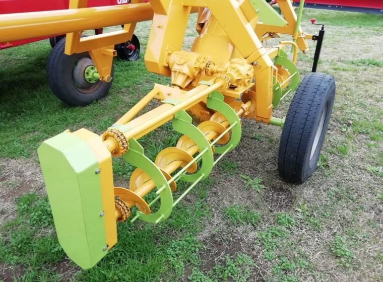 Extractora de cereales Fiberk 0km FHSC 01, año 0