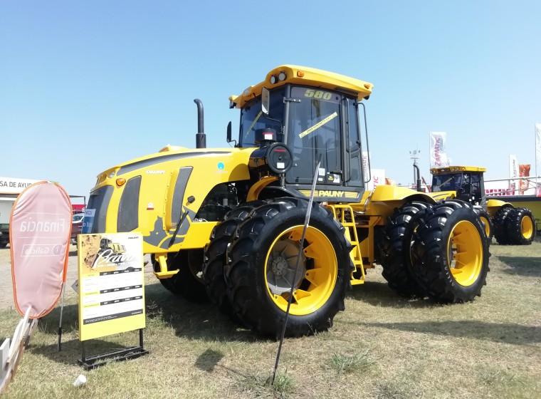 Tractor Pauny 0km Bravo 580, año 2020